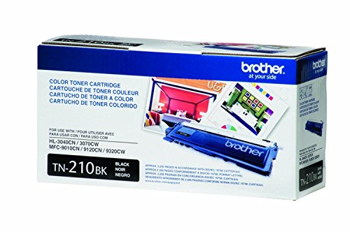 Brother TN210BK Toner Cartridge - Retail Packaging - Black (Brother Mfc9325 Toner)