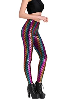 5f426fe33c5792 Maxi Women's Galaxy Printed Soft Novelty Active Stretchy Leggings for Yoga  Workout
