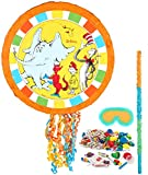 BirthdayExpress Dr Seuss Cat in the Hat Party Supplies - Pinata Kit
