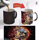 Star Trek Series Magic Mug Color Change Milk Coffee Mug Cup 11 Oz for Gift - 2
