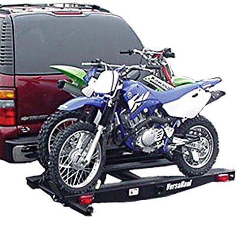Versa Haul VH-55DMRO Double Motorcycle Carrier with (Hitch Haul Steel Motorcycle Carrier)