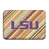Kitchen Rugs Apartment Therapy VDSEHT Lsu Tigers Logo Non-slip Doormat