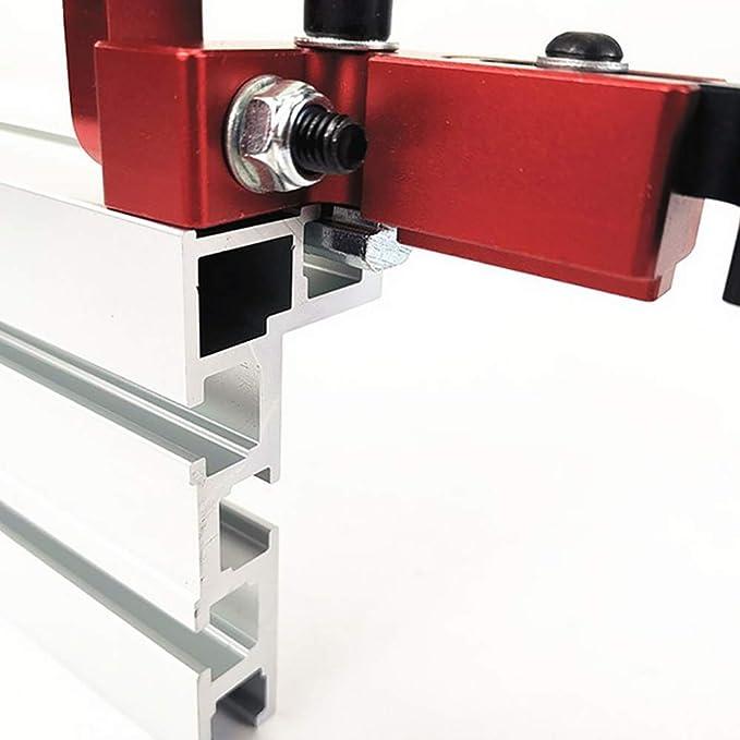 Sierra de mesa en T de aluminio para carpintería para banco de ...