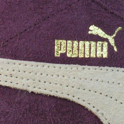 Puma GLYDE MID VINTAGE Scarpe Moda Sneakers Pelle Scamosciata Porpora Borgogna per Donna