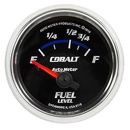 Auto Meter 6118 Cobalt Electric Fuel Level Gauge