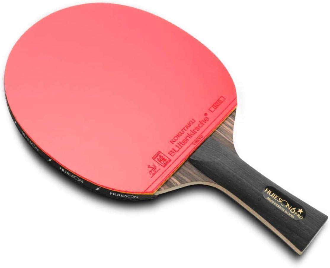 Ping Pong Ping-Pong Mesa Pala Raqueta De Tenis De Mesa, Bofetada, Raqueta Cruzada, Envío De Raquetas, Entrenamiento, Raqueta Individual, Raqueta Especial De Una Persona, Envío De 9 Pelotas Especiales