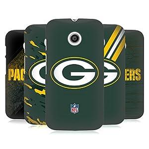 Official NFL Green Bay Packers Logo Hard Back Case for Motorola Moto E (1st Gen) by Head Case Designs