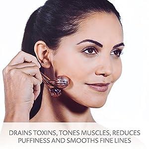 SENSSÈ SENSSE Derma Roller Face Massager & Facial Toner