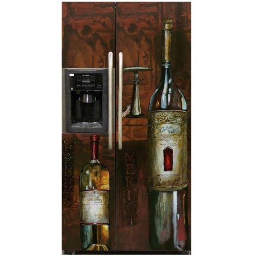 Appliance Art World Refrigerator Magnet