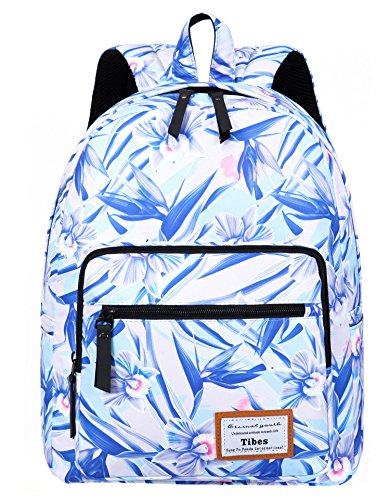 Tibes mochila mochilas mujer mochila escolar bolsas escolares mochila mujer azul claro Azul