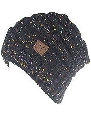 Cloudsemi Dammössa vinter stickad mössa beanie hattar pannband skallies & mössor