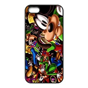 ROBIN YAM- Cute Cartoon Disney Goofy Hard Rubber Gel Silicon Cover Case for iPhone 5 / 5S -BRY447 by supermalls
