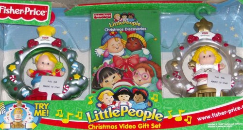 (Fisher-Price Little People Christmas Video Gift Set with 2 Musical Keepsake Ornaments & VHS Tape Christmas Discoveries, Volume 2)