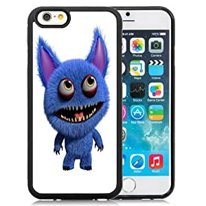 New Personalized Custom Designed For iPhone 6 4.7 Inch TPU Phone Case For 3D Blue Monster Phone Case Cover