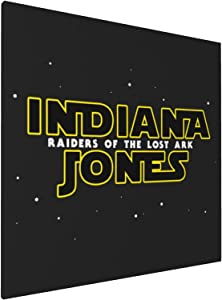 Canvas Prints Wall Art Paintings(20x20in) Raiders Of The Lost Ark Indiana Jones Pictures Home Office Decor Framed Posters & Prints