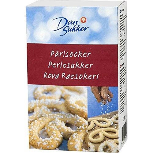 Dansukker Parlsocker Coarse Pearl Sugar (500g) (500g Chocolate Cake)
