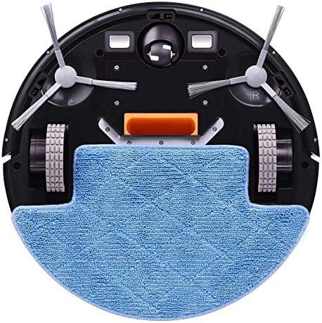 LIUCHANG Aspirateur Robot, WiFi App, Gyroscope 2D Carte de Navigation, Commande électrique Pompe à air Réservoir d\'eau, Nettoyage à Sec Humide liuchang20