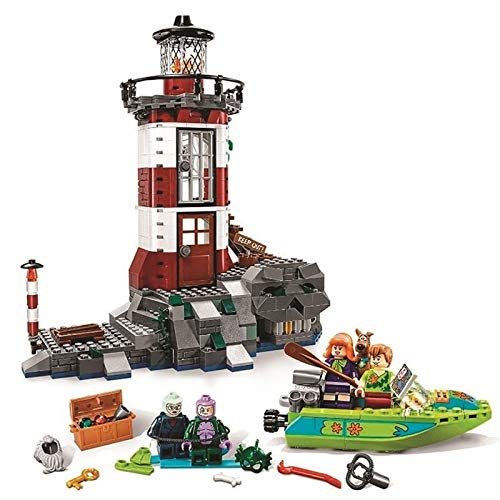 Girl Friends - 437pcs DIY Scooby Doo Haunted Light House Building Blocks Model Compatible with Bricks Toys for Children Brithday Gift - by Orchilld - 1 PCs ()