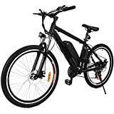 NEW IN 2018 Fast Electric Mountain Bicycle for Adults with Removable Lithium-ion Battery Integrated Mens Electric Bike [US STOCK]