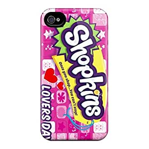 Bumper Hard Cell-phone Case For Iphone 4/4s With Custom High-definition Inside Out Pattern KellyLast