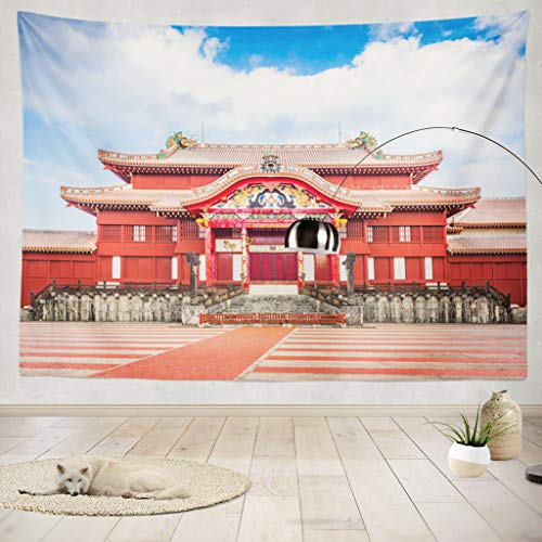 - ONELZ Decor Collection,Okinawa Japan at Shuri Castle Bedroom Living Room Dorm Wall Hanging Tapestry 60