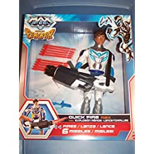 "11"" QUICK FIRE Max Steel -- Rise of the Elementor figure"