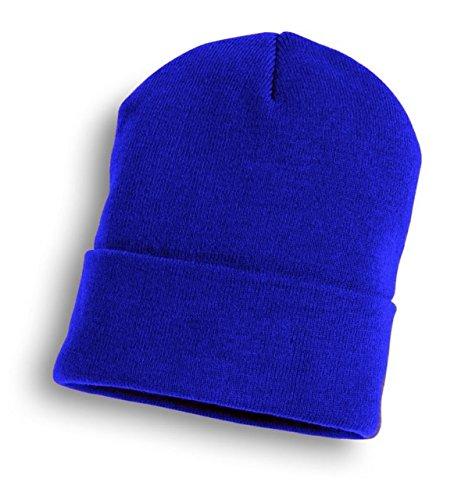 Bronx Plain Soccer Beanie Hat Royal Pack Of 2 by Bronx