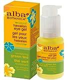 Alba Botanica Hawaiian, Green Tea Eye Gel, 1 Ounce (Pack of 2)