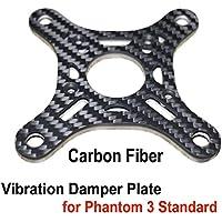 Hobby Signal Phantom 3 Gimbal Vibration Damper Plate 3K Carbon Fiber Damping Board Upper Shock Absorbing Plate for Phantom 3 Standard