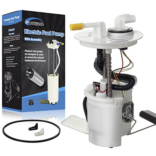 POWERCO Electric Fuel Pump Module Assembly E2435M Replacement for Ford Taurus 2004 2005 2006 2007 3.0L VIN with Sending ()