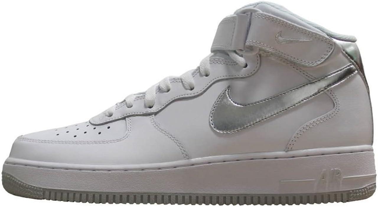 air force 1 baffo argento