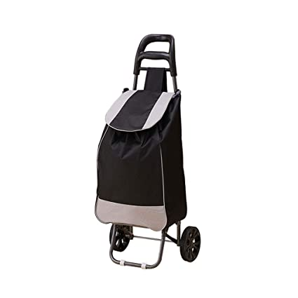 e762fa563d2d Amazon.com : Shopping Cart Shopping Trolley Grocery Foldable Cart ...