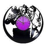 Joker and Harley Quinn HANDMADE Vinyl Record - Get unique home room wall