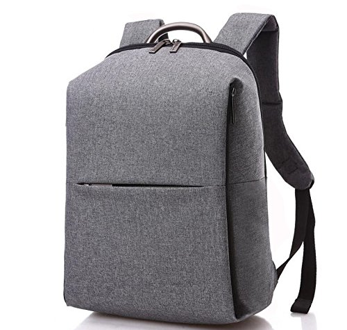 Laptop Backpack For Up To 17-Inch Laptops - Lightweight Padded Sleeve Design - by Utopia Home (Executive Grey)