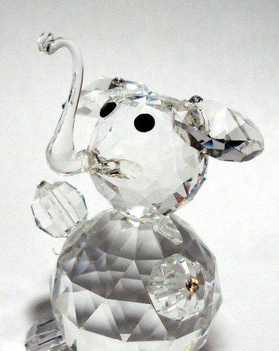 Amazon Com Bjcrystalgifts Crystal Elephant Made With Swarovski