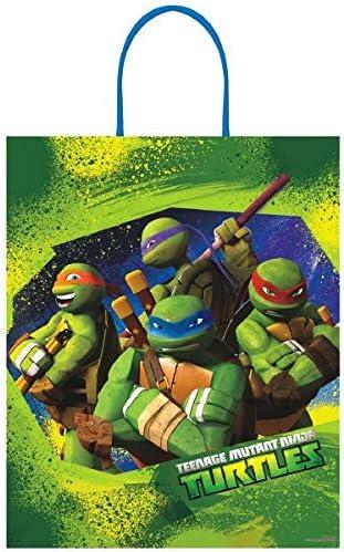 Teenage Mutant Ninja Turtles Deluxe Plastic Treat Bag