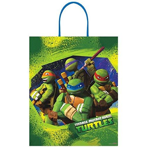 [Amscan Teenage Mutant Ninja Turtles Birthday Loot Bag, 16