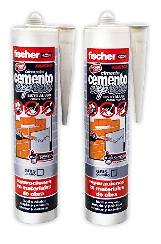 Fischer 512352 –  Ciment Express Gris clair
