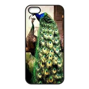 [QiongMai Phone Case] For Samsung Galaxy S5 -Beautiful Peacock-IKAI0445997