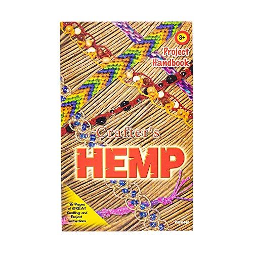Crafters Hemp Handbook – Great for New Hemp Crafters – Easy to Intermediate Styled Crafts -