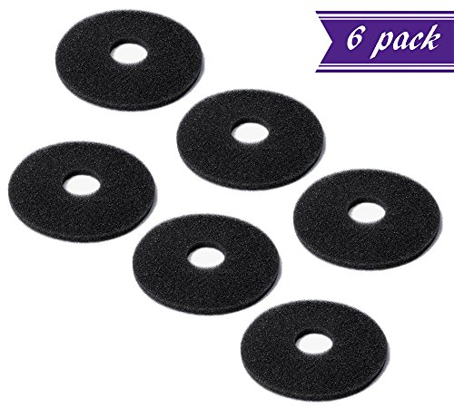 (Pack of 6) Replacement Sponges for Bar Glass Rimmer / Margarita Salter Replacement Sponges by Tezzorio by Tezzorio Bar Supplies (Image #5)