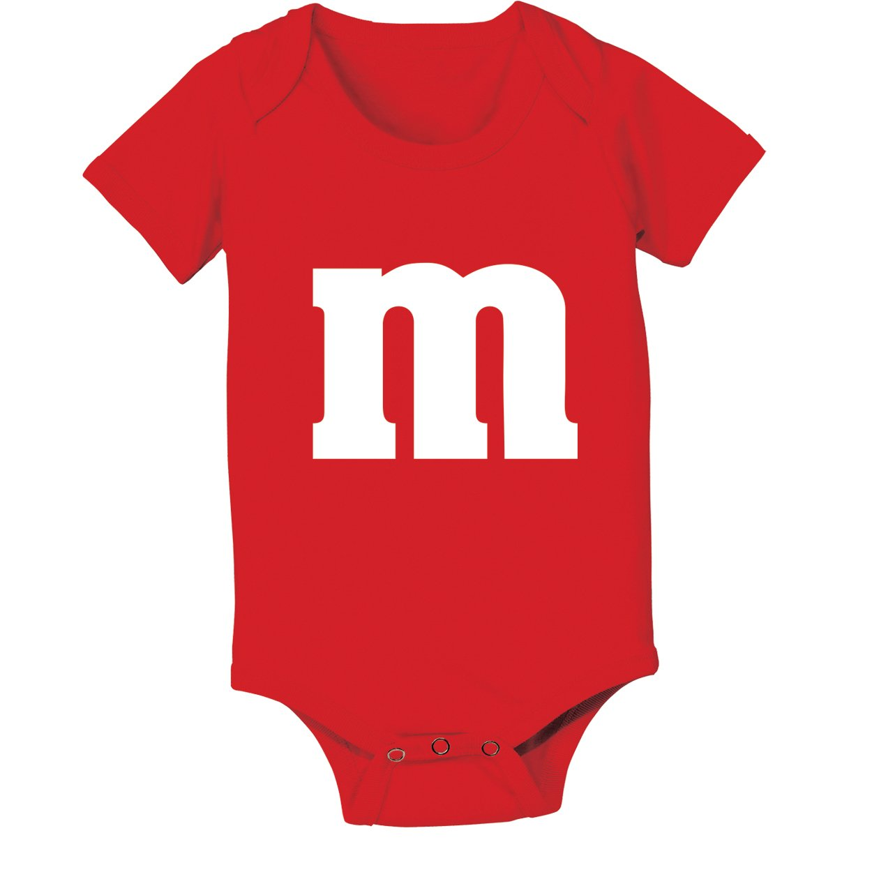 Funny Threads Outlet M Candy Costume Cute Halloween Outfit Group Kids Children Humor Baby One Piece 12 Months Red