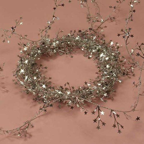 Silver Small Star Garland ()