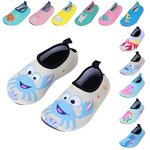 Caitin Kids Swim Slippers Water Shoes Barefoot
