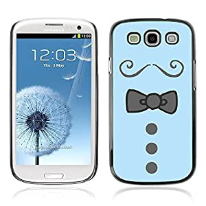 Graphic4You Bowtie Men Shirt Fashion Design Hard Case Cover for Samsung Galaxy S3 S III