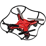 Contixo F2 Mini Pocket Drone 4CH 6 Axis Gyro RC Micro Quadcopter with 3D Flip, Intelligent Fixed Altitude (Red) - Best Gift
