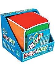 ThinkFun 76479 Roll & Play, het eerste spel, leuke pluche dobbelstenen met verschillende handelingen voor jou en je kind vanaf 18 maanden [Exclusief bij Amazon]