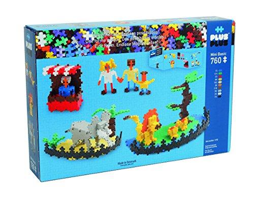 PLUS PLUS 170 Piece SAFARI Instructed Set Puzzle Piece-Shaped Building Toy