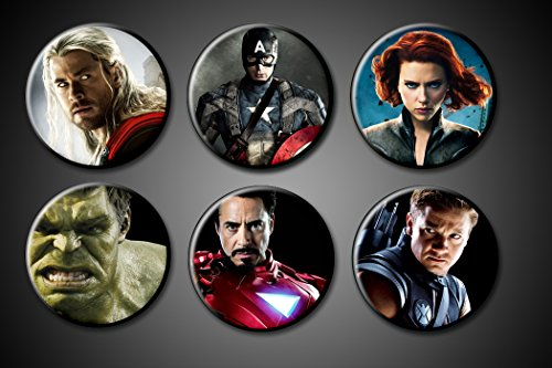 avengers-superhero-pins-actors-set-6-175-captain-america-chris-evans-ironman-robert-downey-jr-hulk-m