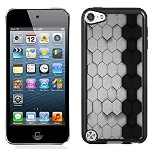 New Personalized Custom Diyed Diy For Touch 4 Case Cover Phone Case For Black and White Honeycombs Phone